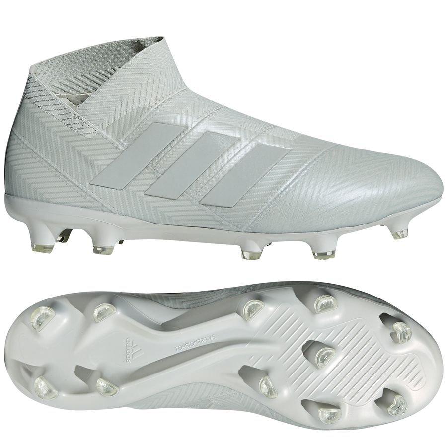 new style 991cf 6cd55 ... new styles 18618 33f73 adidas nemeziz 18+ fgag spectral mode - sølvhvid  forudbestilling - fodboldstøvler ...
