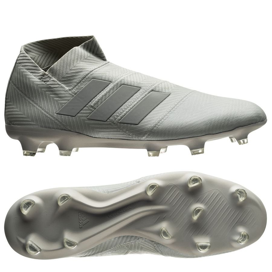 purchase cheap caefa 683e8 adidas nemeziz 18+ fgag spectral mode - silverwhite - football boots ...