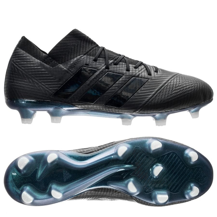 adidas Nemeziz 18.1 FG/AG - Sort/Hvid