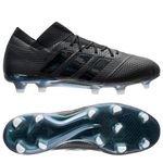 adidas Nemeziz 18.1 FG/AG Shadow Mode - Zwart/Wit