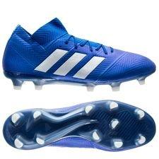 adidas Nemeziz 18.1 FG/AG Team Mode - Blauw/Wit