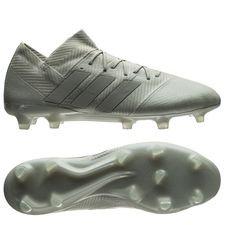 adidas Nemeziz 18.1 FG/AG Spectral Mode - Silber/Weiß