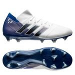 adidas Nemeziz Messi 18.1 FG/AG Team Mode - Wit/Zwart/Blauw