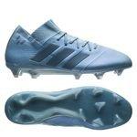 adidas Nemeziz Messi 18.1 FG/AG Spectral Mode - Bleu/Doré