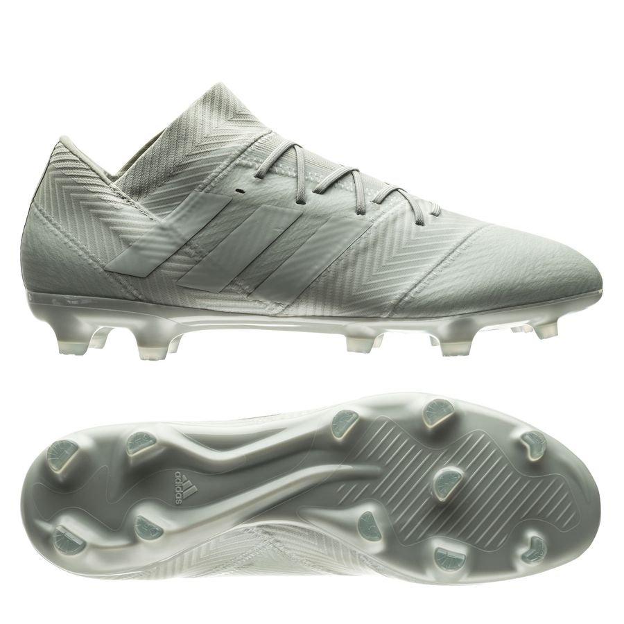 adidas Nemeziz 18.2 FG/AG - Sølv/Hvid