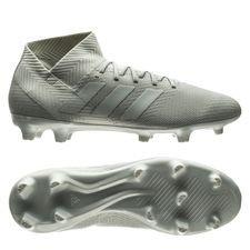 Image of   adidas Nemeziz 18.3 FG/AG Spectral Mode - Sølv/Hvid
