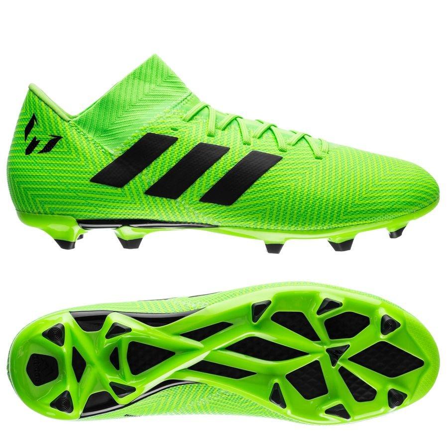 adidas nemeziz messi 18.3 fg ag energy mode - grön svart - fotbollsskor ... d6c8404b04e2b