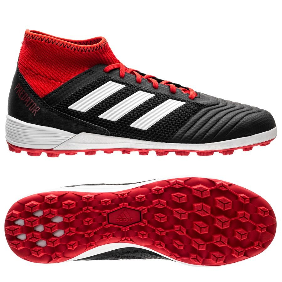 timeless design 2d2ac 80a26 adidas predator tango 18.3 tf team mode - core black footwear white solar  red ...