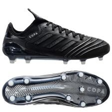 adidas Copa 18.1 FG/AG Shadow Mode - Sort/Hvit