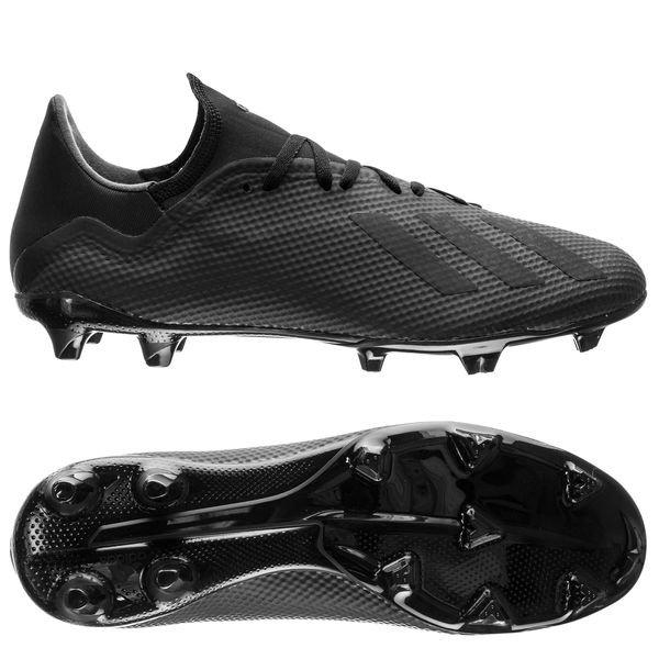 Football boots Adidas X 18.3 FG Shadow Mode Pack