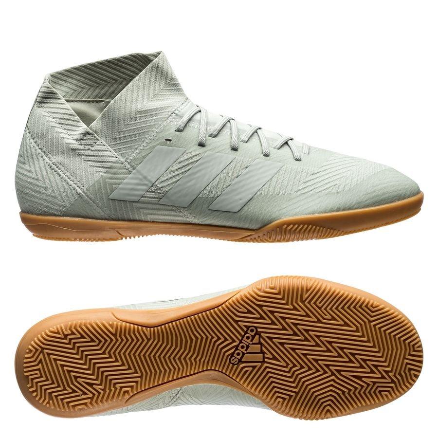 adidas Nemeziz Tango 18.3 IN Spectral Mode - Argenté/Blanc