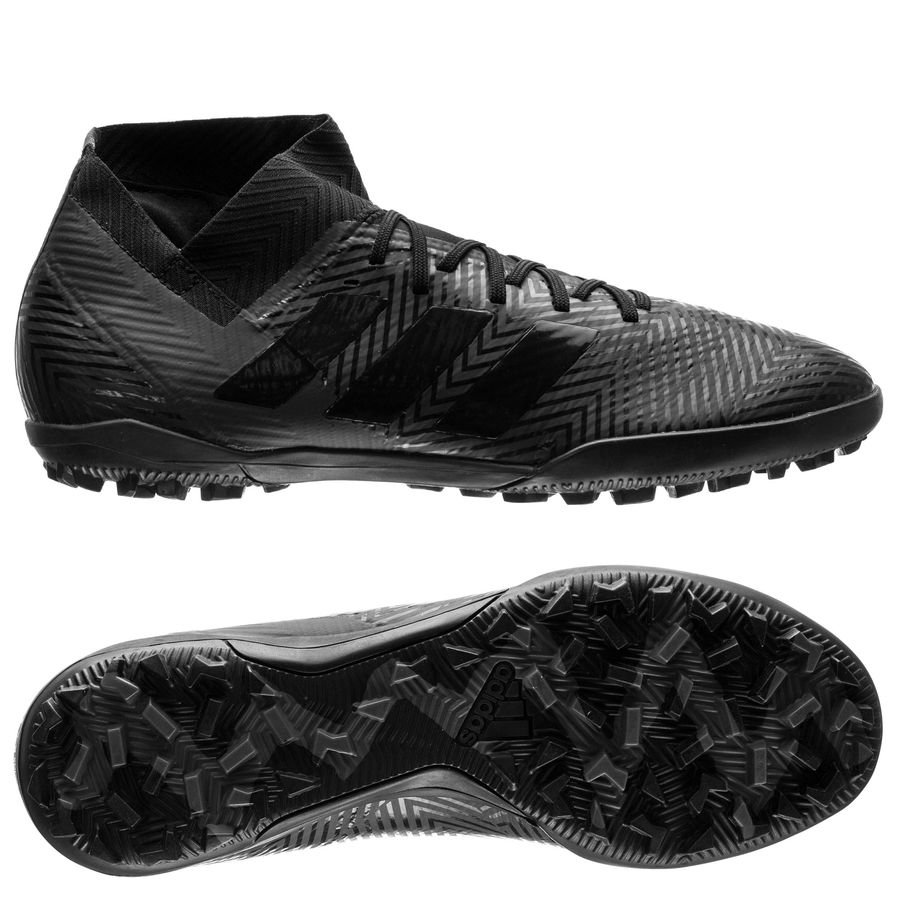 the latest 1c2aa 8f226 adidas nemeziz tango 18.3 tf shadow mode - core black grey five - football  boots ...