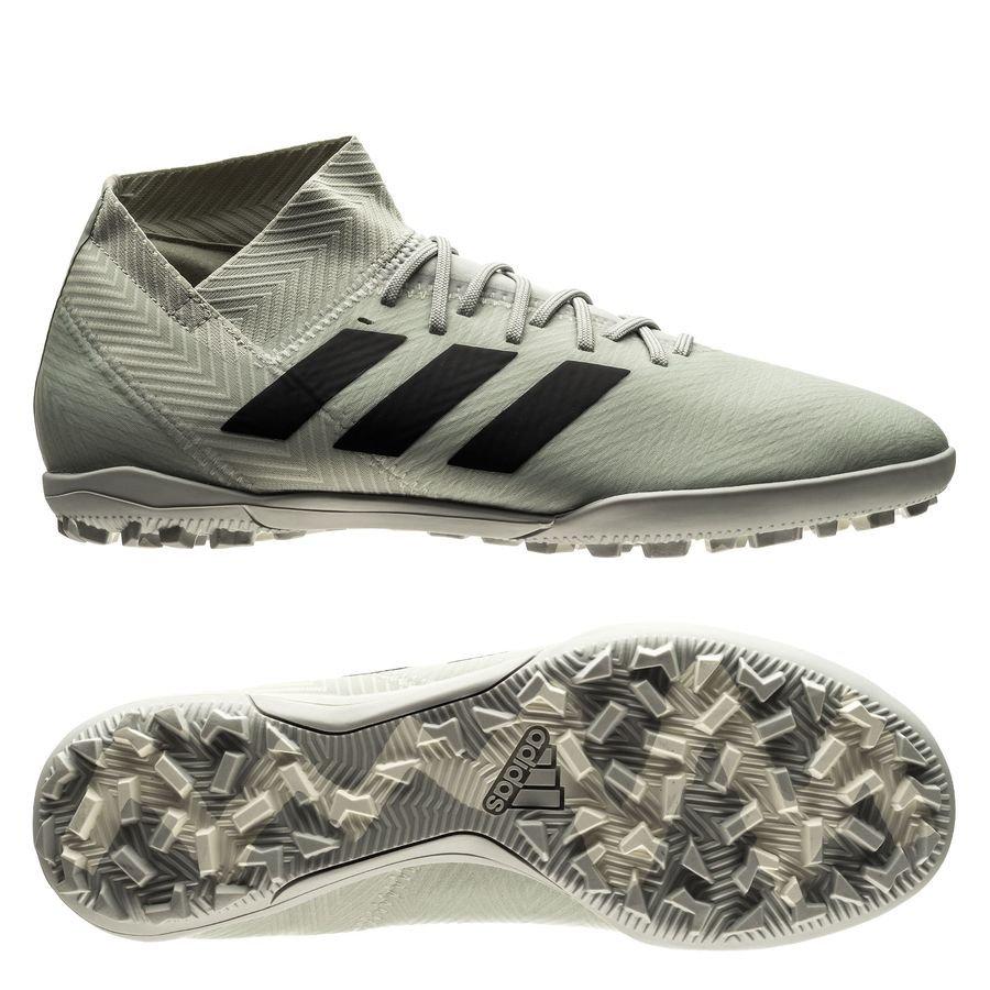 0f9c516bfcff adidas nemeziz tango 18.3 tf spectral mode - silver white - football boots  ...