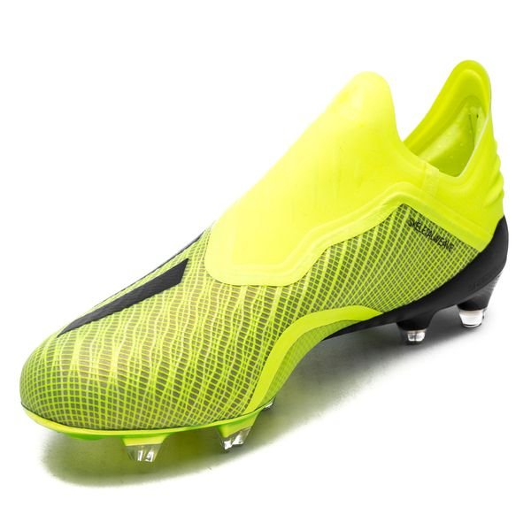 3507be1e adidas X 18+ FG/AG Team Mode - Gul/Sort/Hvit | www.unisportstore.no
