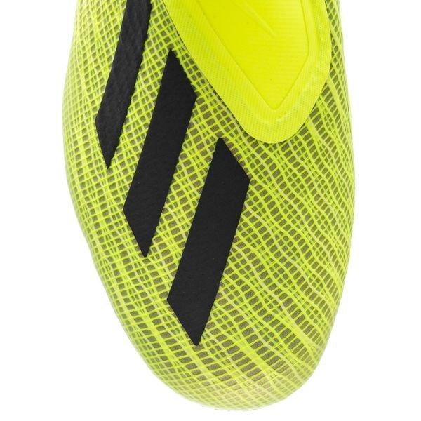 sports shoes 99481 86eab adidas X 18+ FG AG Team Mode - Gul Svart Vit