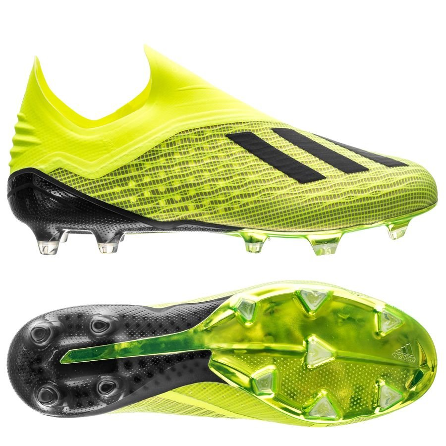 new product 0cf18 57555 adidas x 18+ fgag team mode - solar yellowcore black ...