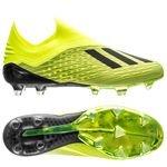 adidas X 18+ FG/AG Team Mode - Geel/Zwart/Wit