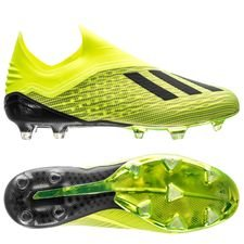 adidas X 18+ FG/AG Team Mode - Geel/Zwart/Wit