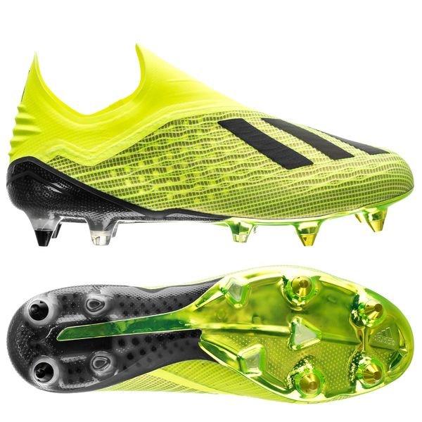 4be8df95 adidas X 18+ SG Team Mode - Gul/Sort/Hvit | www.unisportstore.no