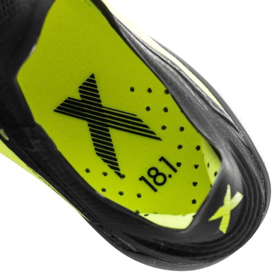 differently 947c1 208e4 ... new zealand adidas x 18.1 fg ag team mode gul sort hvit fotballsko  6dd73 03842