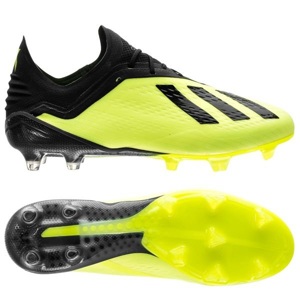 best sneakers 5f2cd 2cb02 adidas X 18.1 FG/AG Team Mode - Solar Yellow/Core Black ...