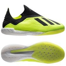 adidas X Tango 18+ IN Boost Team Mode - Geel/Zwart/Wit
