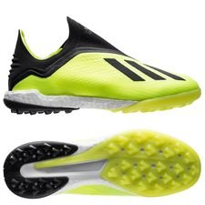 adidas X Tango 18+ TF Team Mode - Geel/Zwart/Wit