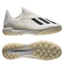 adidas X Tango 18+ TF Spectral Mode - Valkoinen/Musta