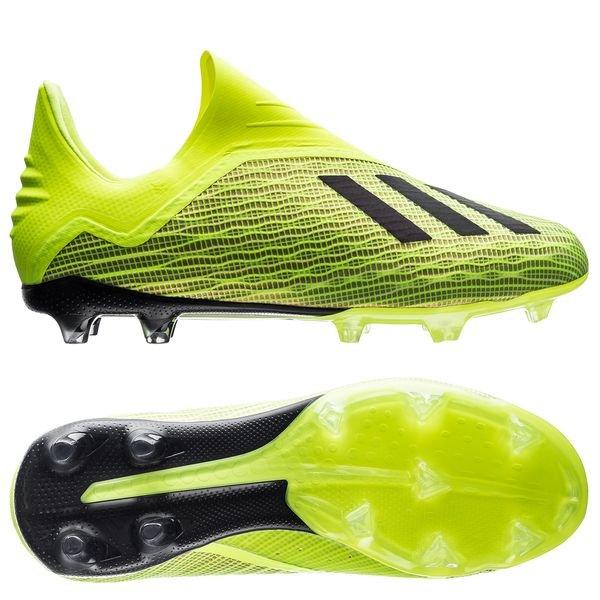 c55651b40a1f adidas X 18+ FG AG Team Mode - Solar Yellow Core Black Footwear ...
