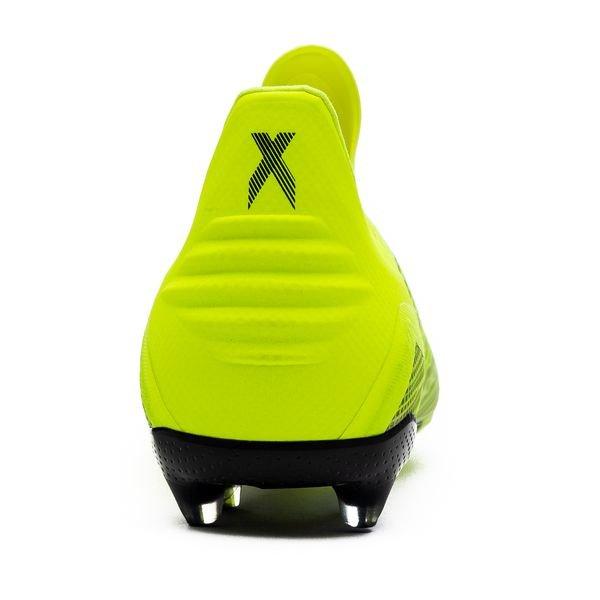 the best attitude f0df4 d513f adidas X 18+ FG AG Team Mode - Gul Sort Hvit Barn