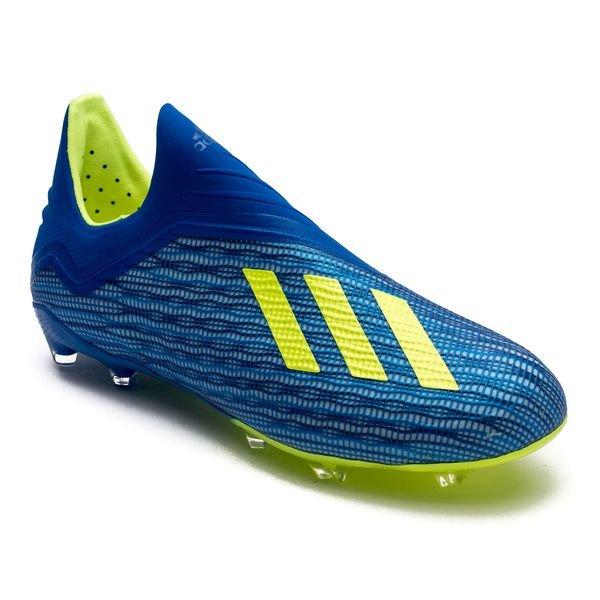 Adidas Messi De 17,1 Fg / Ag Grève Mortelle - Bleu / Vert / Noir