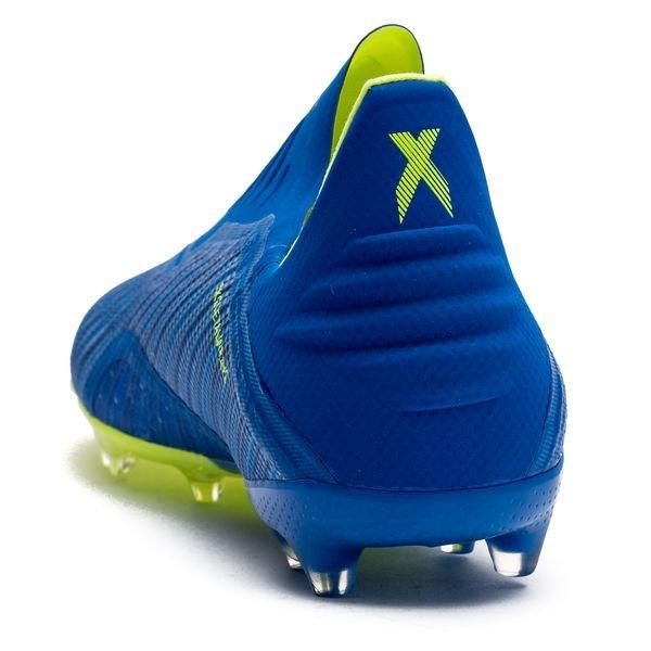 Adidas X 18,3 Fg / Mode Énergie Ag - Enfants Bleu / Jaune
