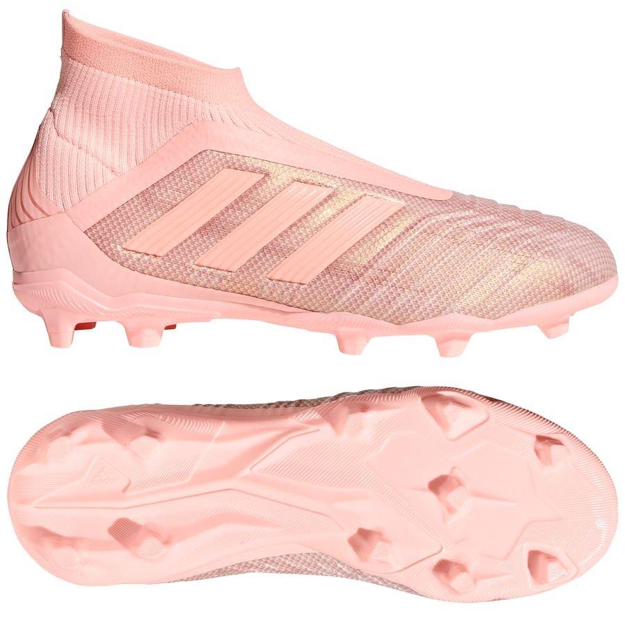 buy popular b946c bf50a adidas Predator 18+ FGAG Spectral Mode - Pink Børn FORUDBESTILLING.  Fodboldstøvler
