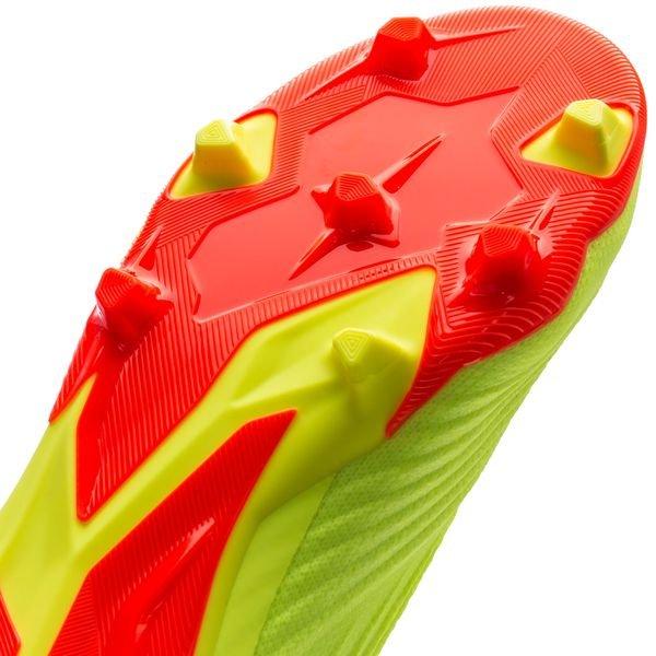 adidas Predator 18+ FGAG Energy Mode GulRød Barn