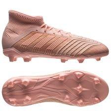 adidas predator 18.1 fg/ag spectral mode - pink børn - fodboldstøvler