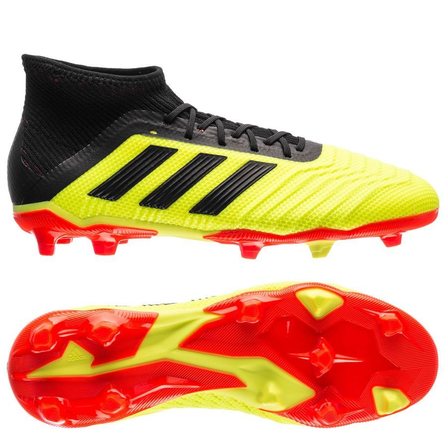 4a721e145ec adidas Predator 18.1 FG AG Energy Mode - Solar Yellow Solar Red Kids ...