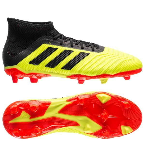 e11ed1758b1a adidas Predator 18.1 FG AG Energy Mode - Solar Yellow Solar Red Kids ...