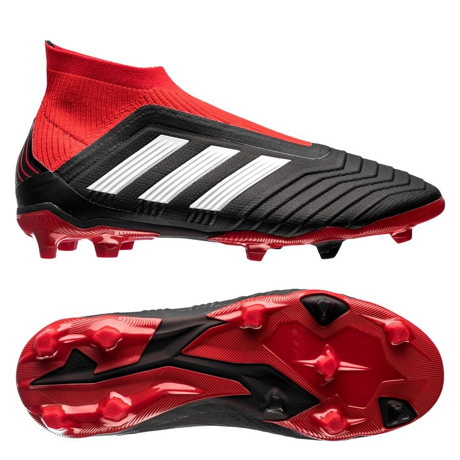 adidas predator 18+ fg ag team mode - core black red kids ... 9c74821729f