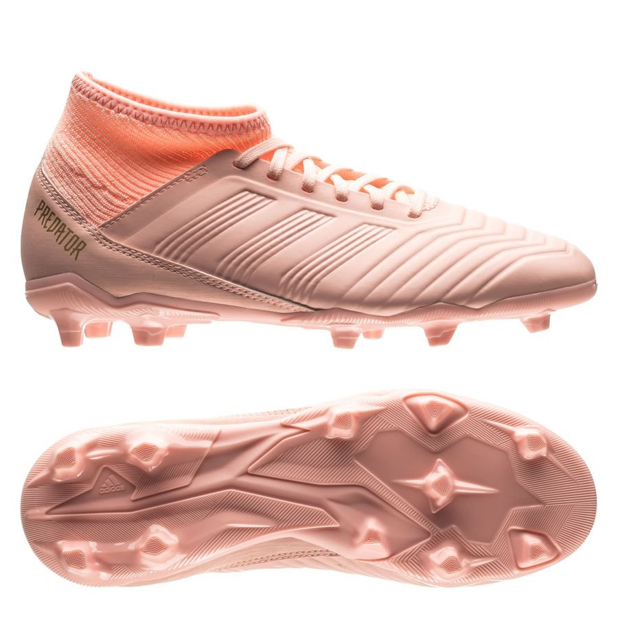 uk cheap sale best supplier pretty cool adidas Predator 18.3 FG/AG Spectral Mode - Pink Kinder