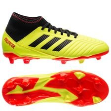 first rate e0024 62608 adidas Predator 18.3 FG AG Energy Mode - Gul Svart Barn
