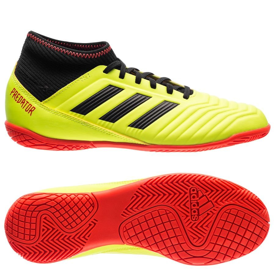 online retailer 91ed0 a2ad7 adidas predator tango 18.3 in energy mode - gulsvart barn - inomhusskor ...