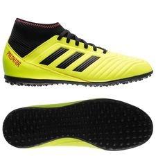 adidas predator tango 18.3 tf energy mode - gul/sort børn - fodboldstøvler
