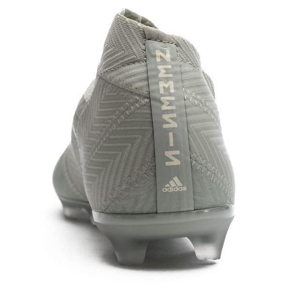check out f3e58 576cd ... adidas nemeziz 18+ fgag spectral mode - sølvhvit barn - fotballsko ...