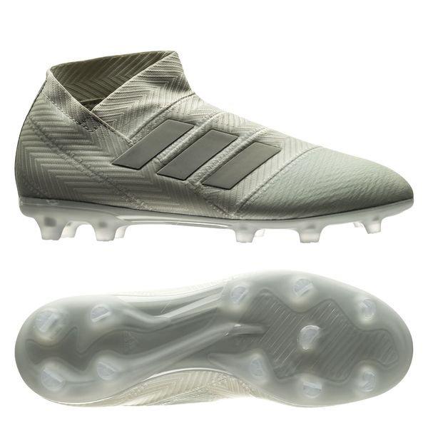 the best attitude 27303 b49e8 adidas nemeziz 18+ fgag spectral mode - sølvhvit barn - fotballsko ...