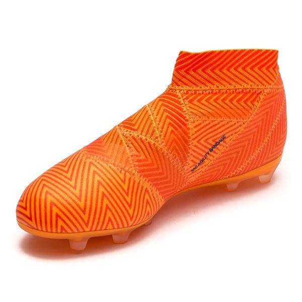 Adidas Nemeziz 18,1 Fg / Ag Mode Énergie - Les Enfants Orange / Noir