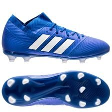 adidas Nemeziz 18.1 FG/AG Team Mode - Blauw/Wit Kinderen