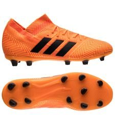 adidas Nemeziz 18.1 FG/AG Energy Mode - Orange/Svart Barn