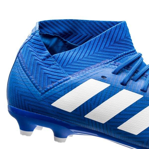 cd667cab3 adidas Nemeziz 18.3 FG/AG Team Mode - Blau/Weiß Kinder | www ...