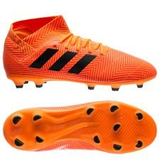 adidas Nemeziz 18.3 FG/AG Energy Mode - Orange/Svart Barn