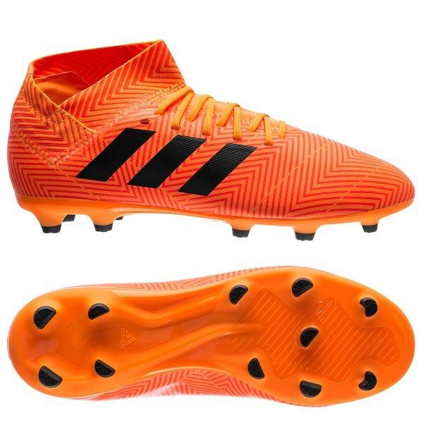 29b5632d2d77 adidas Nemeziz 18.3 FG AG Energy Mode - Orange Core Black Kids
